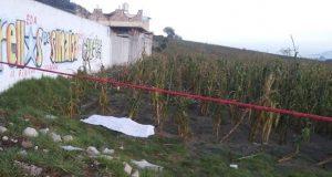 Hallan cadáver de hombre con 3 balazos en la Serdán-Cuesta Blanca
