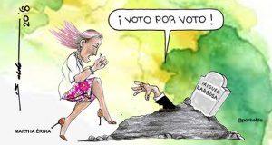 Caricatura: Los muertos políticos también reviven