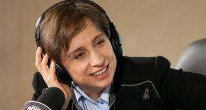 Aristegui logra el galardón Zenger 2018 a la libertad de prensa