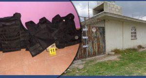 Aseguran casa de seguridad de banda de secuestradores en Acatzingo