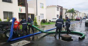 Ceaspue continúa operativo en 3 municipios afectados por lluvias