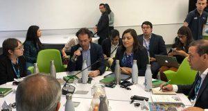Claudia Rivera participa en mesa de Seguridad Urbana en Colombia