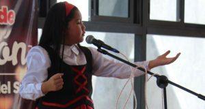 Antorcha realiza concurso estatal de declamación para Espartaqueada