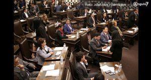 Trabajar por ciudadanía y olvidar venganzas, pide Cárdenas a Morena en Congreso