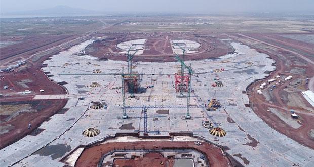 CCE afirma que lo mejor es continuar con construcción de NAIM