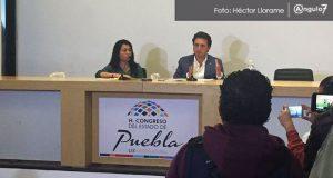 Acusan a diputados salientes de dejar sin dinero al Congreso de Puebla