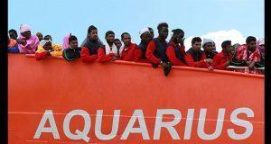 Italia hace tambalear a Aquarius y su rescate a refugiados