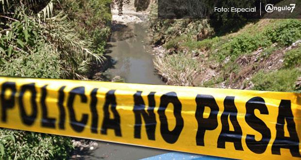 Flotando en río Alseseca, en colonia El Chamizal, hallan cadáver de hombre