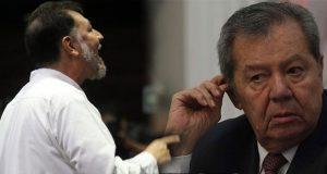 Fernández Noroña reclama a Muñoz Ledo por ir a informe de EPN