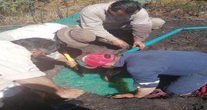 Fuga de hidrocarburo en Texmelucan contamina el río Atoyac