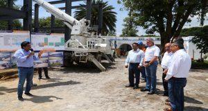 Gali supervisa construcción del IAP con una inversión de 20.9 mdp