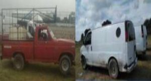 SSP y Sedena recuperan 8 vehículos usados para trasiego de huachicol