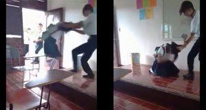 Difunden video de joven golpeando a compañera en Quintana Roo