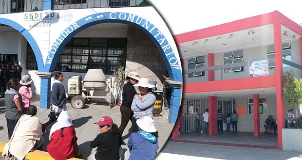 """Crean movimiento para """"empoderar"""" a juntas auxiliares de Puebla"""