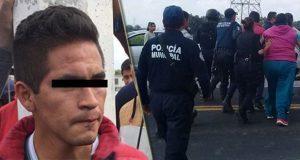 Vecinos intentan linchar a presunto ladrón en Acatzingo