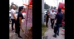 Dueños de restaurante en CDMX golpean a vendedor de nieves