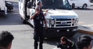 Motociclista muere tras chocar contra grúa en bulevar Valsequillo