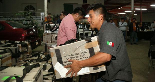 Hubo paquetes electorales manipulados en elección: Claudia Rivera