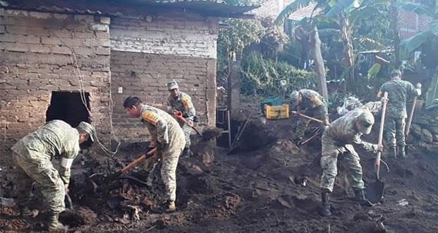 Suman 7 muertos y 8 desaparecidos por tromba en Peribán, Michoacán