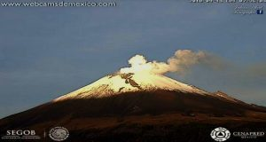 Popocatépetl registra 5 explosiones y 114 exhalaciones en un díaPopocatépetl registra 5 explosiones y 114 exhalaciones en un día