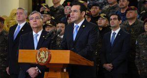 Presidente de Guatemala revoca mandato a comisión contra impunidad
