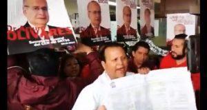 Aspirantes a delegados del IMSS logran registro tras nueva protesta