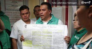Sindicalizados IMSS acusan a su líder de no permitir registro para delegados
