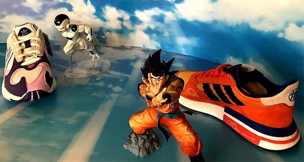 Lanzan ZX 500 RM y Yung-1, tenis Adidas-Bandai de Goku y Freezer