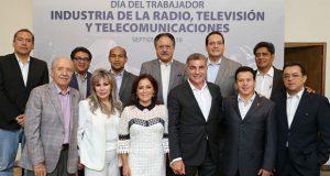 Gali reconoce a gremio de radio, televisión y telecomunicaciones