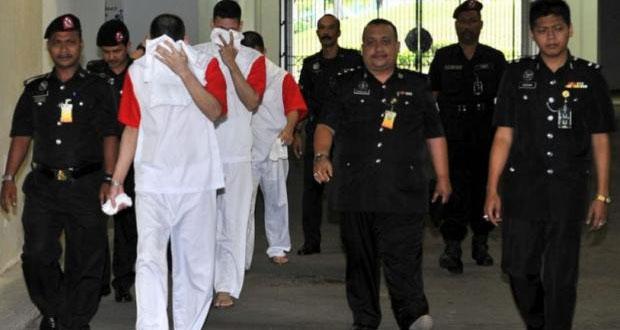 Perdonan vida a 3 mexicanos sentenciados por narcotráfico en Malasia