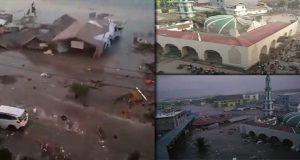 Tsunami impacta isla de Indonesia tras dos terremotos