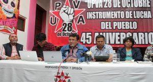 """""""28 de Octubre"""" se deslinda de balacera en La Fayuca"""