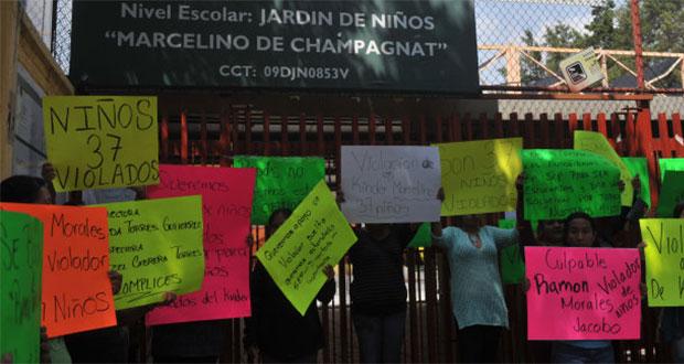 Acusan abuso sexual contra 37 niños en kínder de CDMX
