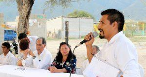 Celebran consecución de drenaje y red de agua potable en Ajalpan