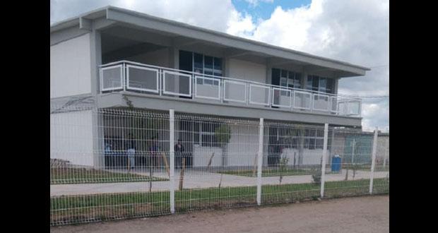 """Antorcha construye 2ª etapa de escuela """"Gregorio de Gante"""" en Amozoc"""