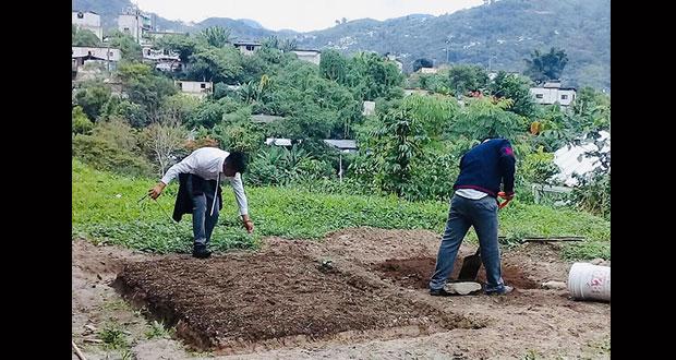 CBTA de Huitzilan mejora infraestructura de prácticas agropecuarias