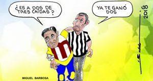 Caricatura: ¿La tercera es la vencida para Barbosa?