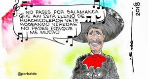 Caricatura: Salamanca y su huachicol