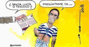 Caricatura: ¿Y dónde quedará el NAIM?