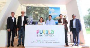 Puebla expone riqueza cultural en cumbre global de negocios