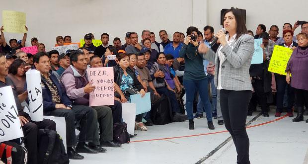 En reunión con sindicato, Rivera afirma que no permitirá chantajes