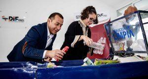 DIF municipal y OOSL dan taller sobre separación de desechos