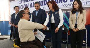 DIF reconoce a 292 trabajadores certificados en atención ciudadana