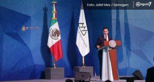 EPN, sin halagos a Puebla, presume que campo mexicano cambió con él
