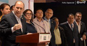 En San Lázaro, Morena PT y PES urgen a Tepjf anular elección en Puebla