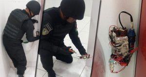 Grupo Potasio atiende amenaza de bomba en UVM y destruye artefacto