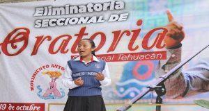Abordan temas de política en concurso de oratoria en Ajalpan