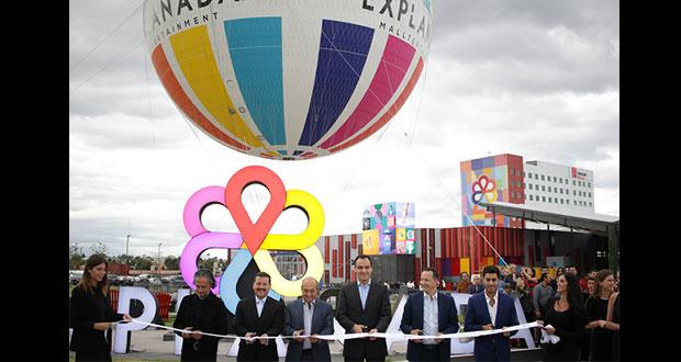 Inauguran Explanada Puebla con una inversion de mil 953 millones de pesos