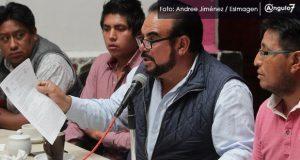 Tianguistas de San Martín acusan a Finanzas de abusos en operativos