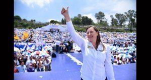 Dirigentes del PAN respaldan fallo de TEEP a favor de Martha Erika